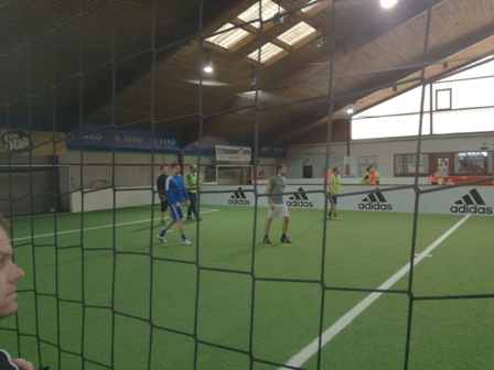 Training Soccerhalle